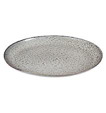 Plat ovale Nordic Sea grès