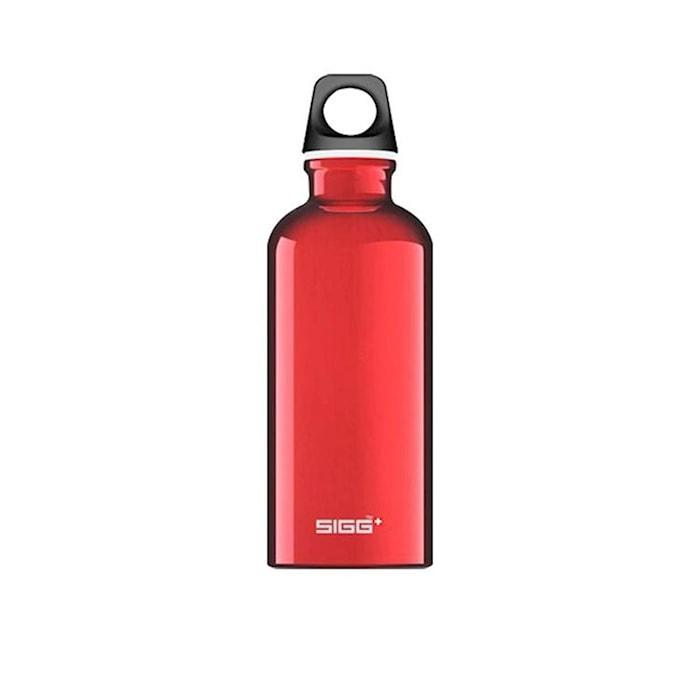 Flaska Traveller Röd 0,6 l