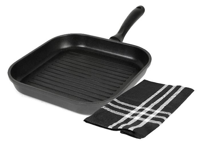 """Grillpanneset Black"""" 28 cm"""""""