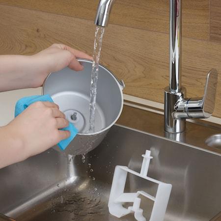 Glassmaskin med Kompressor Yoghurtfunktion 2 Skålar 2L