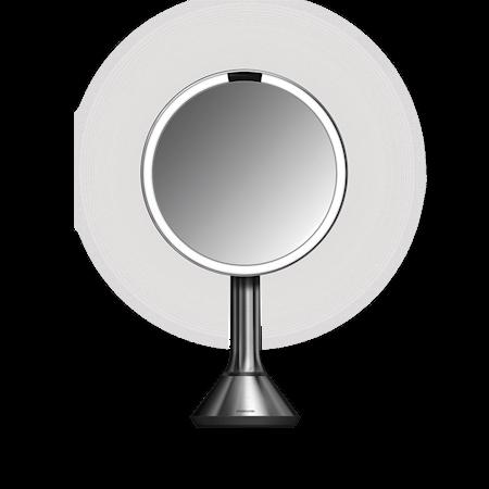 Sensor Spegel med Justerbar ljusstyrka Borstat Rostfritt Ståll