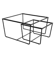 Stella stuebord understell, svart (sett på 2)