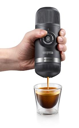 Nanopresso + Nespresso-adapter