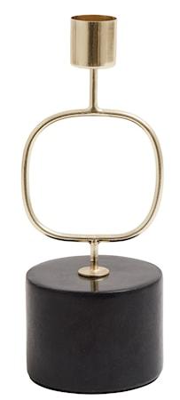 Ljusstake Järn cirkel 19 cm Mässing
