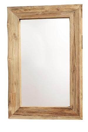 Aino Spegel S Återvunnen teak 60x90 cm