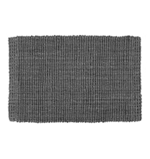 Doormat Jute Lead Grey 90x60 cm
