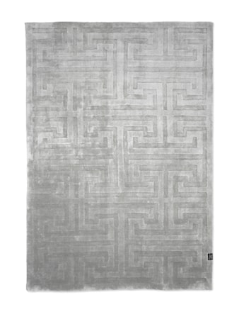 Teppe Key Tencel Silver - 170x230 cm