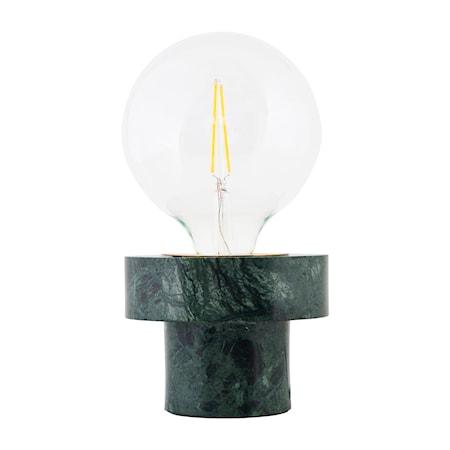 Bordslampa Pin Ø 13x10cm Grön