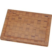 Skærebræt, bambus, lille. 250x20x185 mm