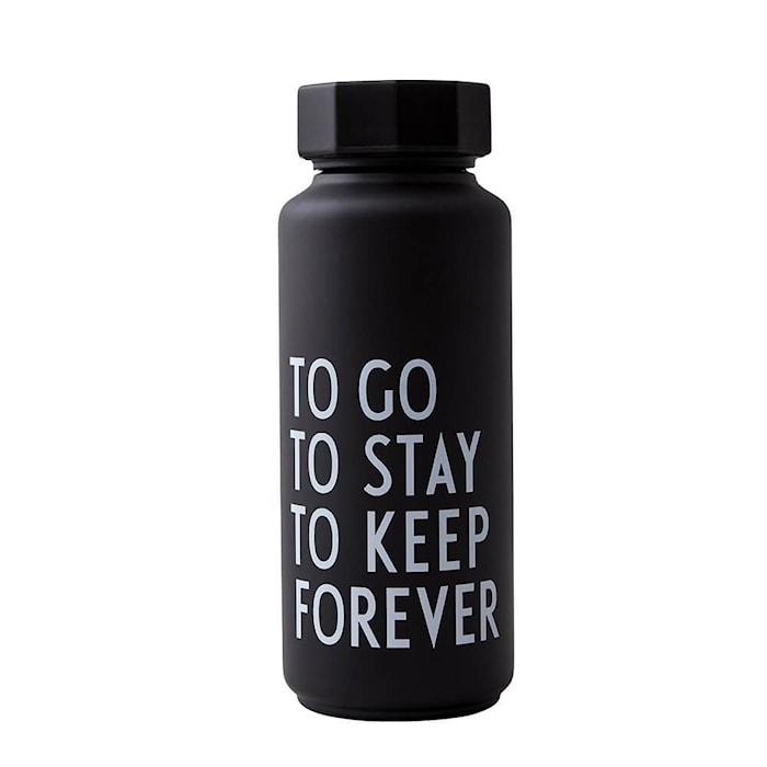 Thermo/Isolerad Flaska Special Edition Svart