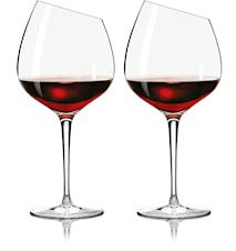 Bourgougne Copa de vino 2 piezas