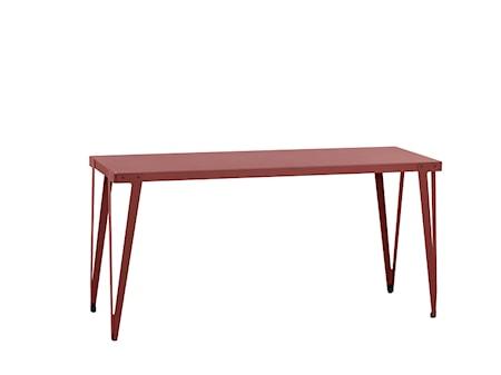 Lloyd high table barbord – 230x80, mörkröd