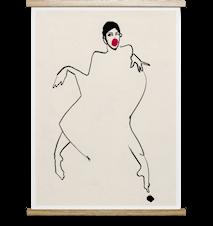 Dancer 02 Poster 50x70 cm