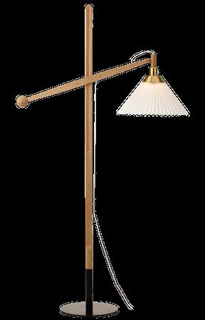 325 Golvlampa Ljus Ek Incl Skärm 12-21BR