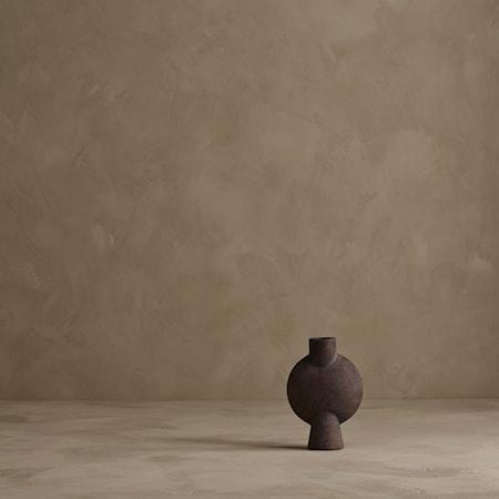 Sphere Bubl Vase Mini - Brun