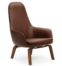 Era Lounge Chair High Walnut Tango