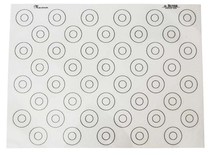 Macaron Bakmatta Non-Stick Silikon 40x30 cm