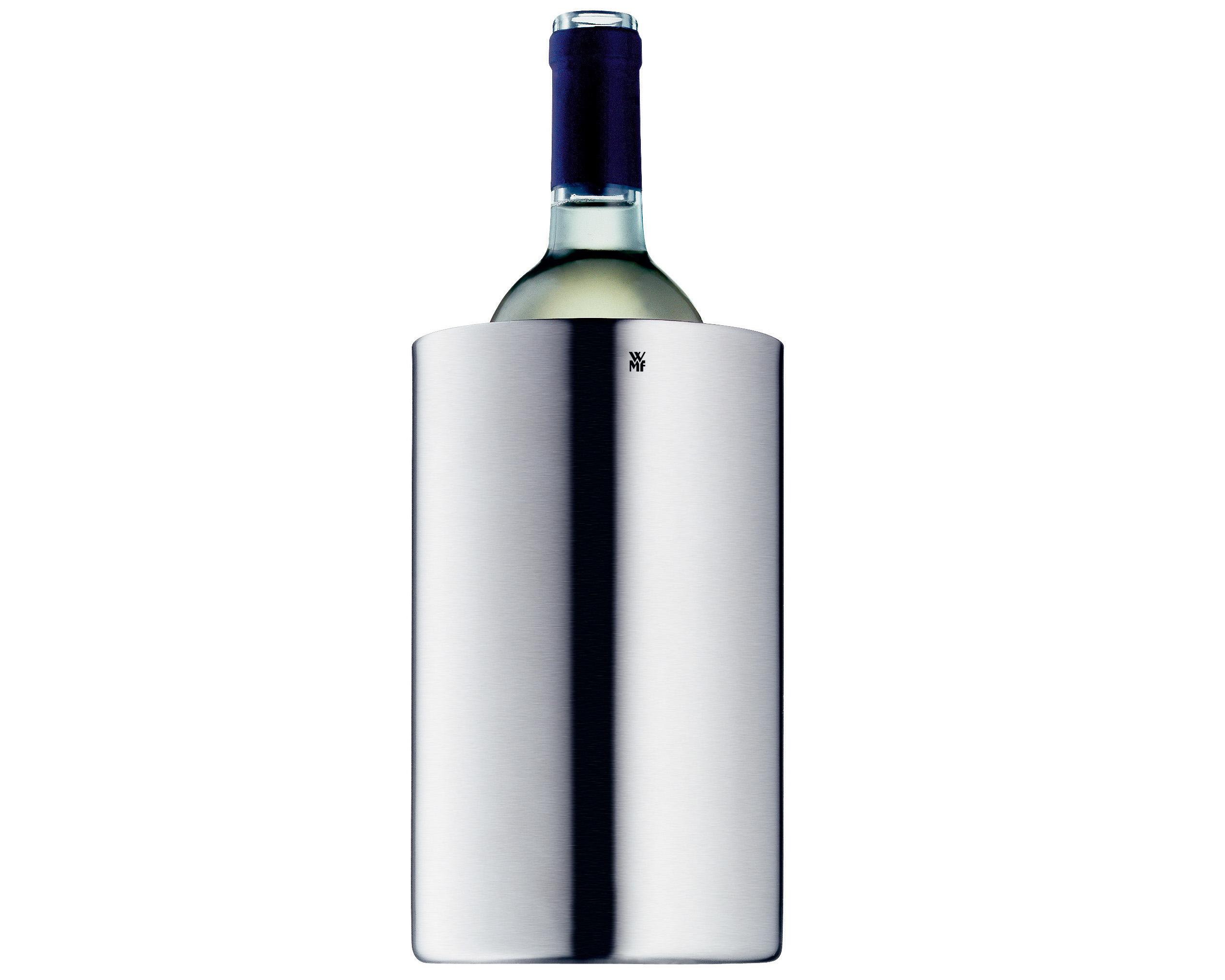 Manhattan Flaskkylare 195x12cm matt stål