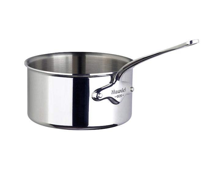 Cook Style Kasserolle 2,5L blank stål