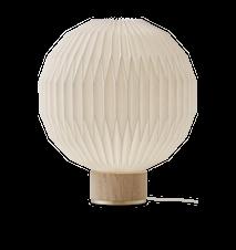 Model 375 Bordslampa Medium Ljus Ek Fot Papper Skärm