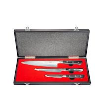 Pro-S Knivset 3 Delar Presentförpackning