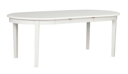 Koster Matbord Ovalt Vit 163x103 cm