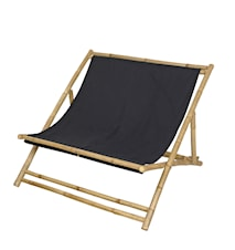 Solstol til to personer- RELAX, sort