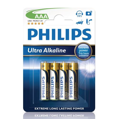Fashion Ultra Alkaline AAA 4-pack