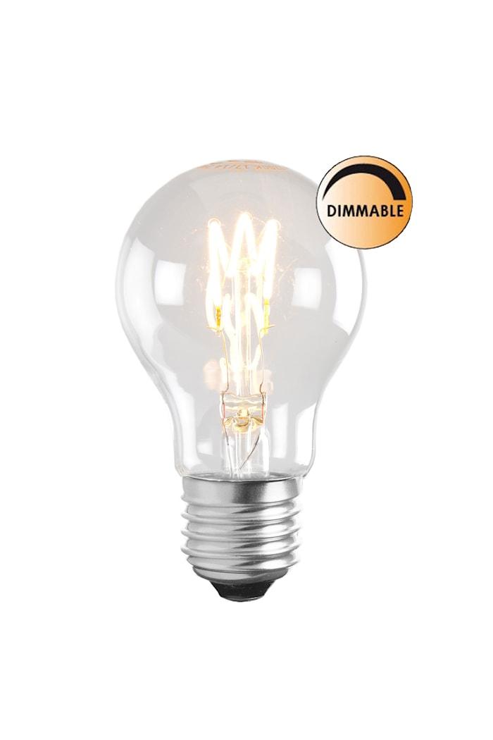 Pære LED Soft Filament Dæmpbar Klar Normal