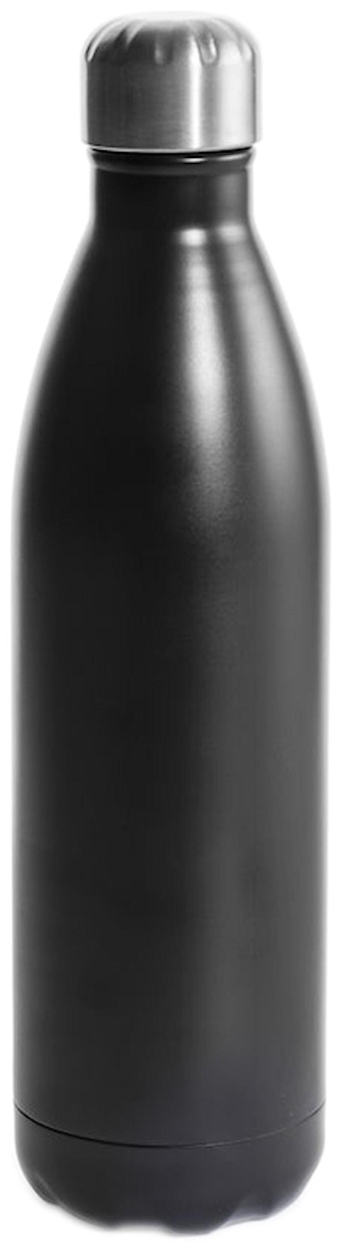 Stålflaska svart 75 cl