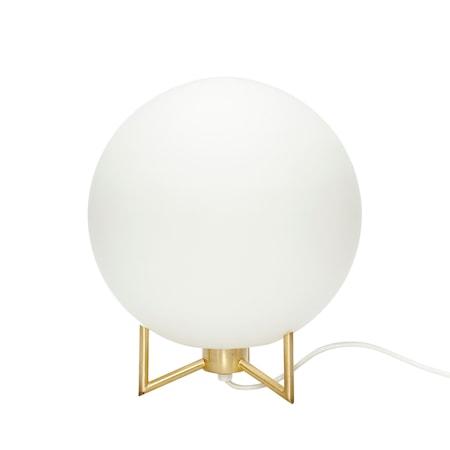 Bordslampa Vit/Mässing ø26xh30cm