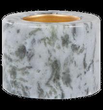 Värmesljushållare Blå marmor 5,5 cm