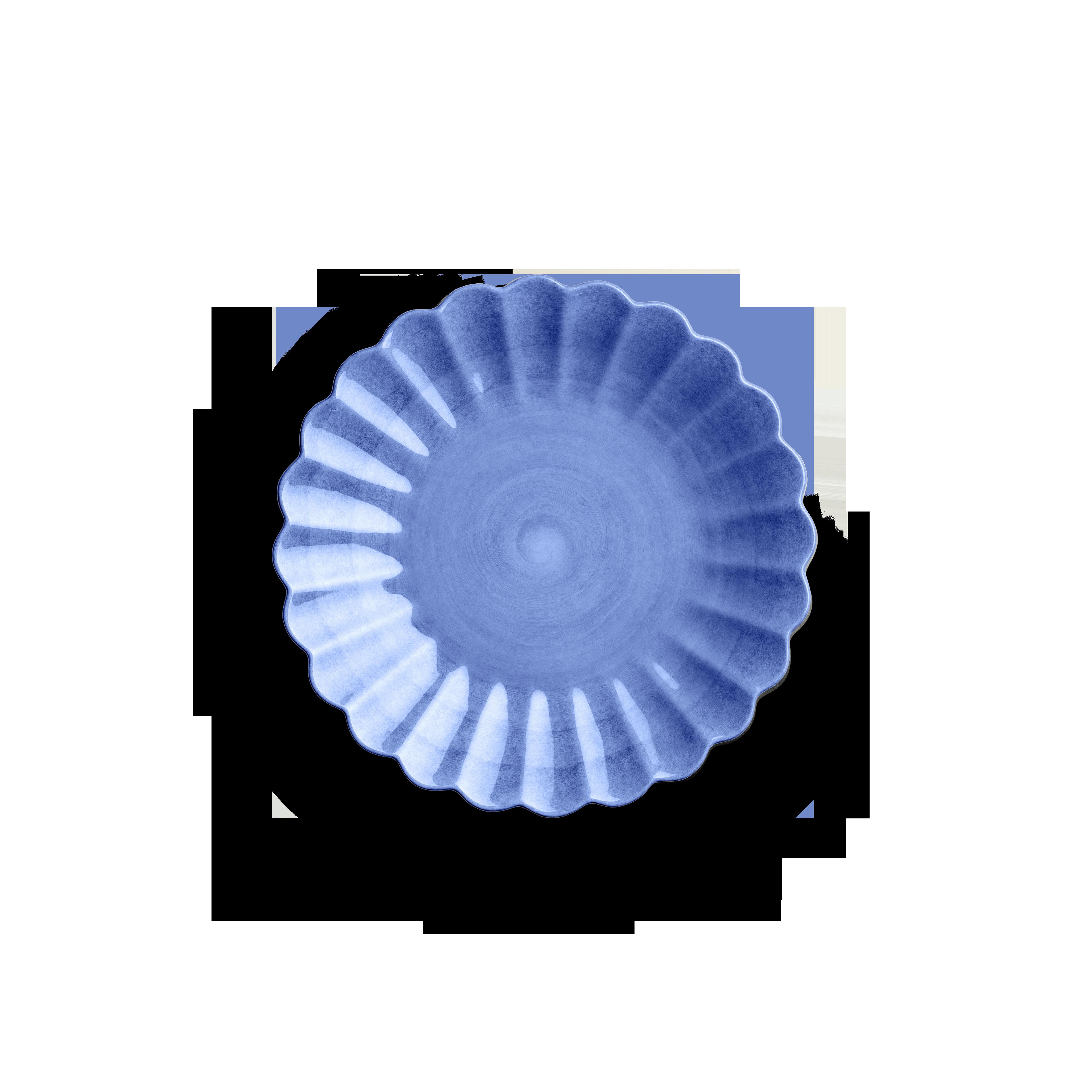Oyster Tallrik Ljusblå 20 cm