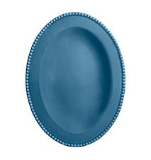 Fat Ovalt 40 cm Havsblå