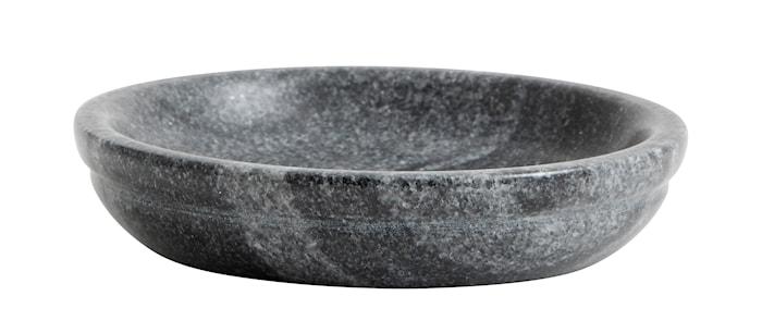 Liten Skål Svart/Grå Marmor