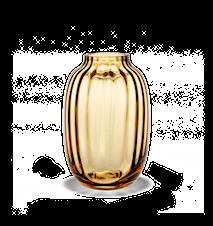Primula Vase Amber H 25,5 cm