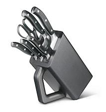Veitsitukki, 6 paikkaa, taotut veitset, Grand Mitre