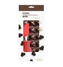 Backset Schokolade Herz