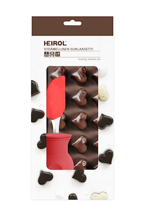 Bakset Choklad Hjärta
