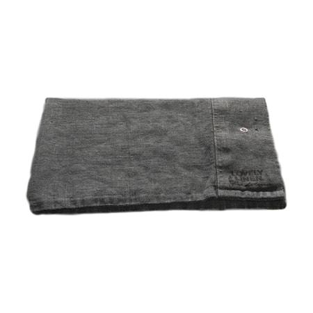 Lovely linen örngott Dark grey