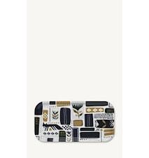 Svaale Tarjotin 43 x 22 cm Valkoinen/Vihreä/Liila