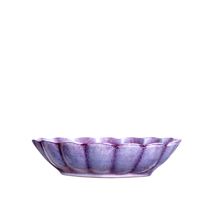 Oyster Skål Viol 23x18cm