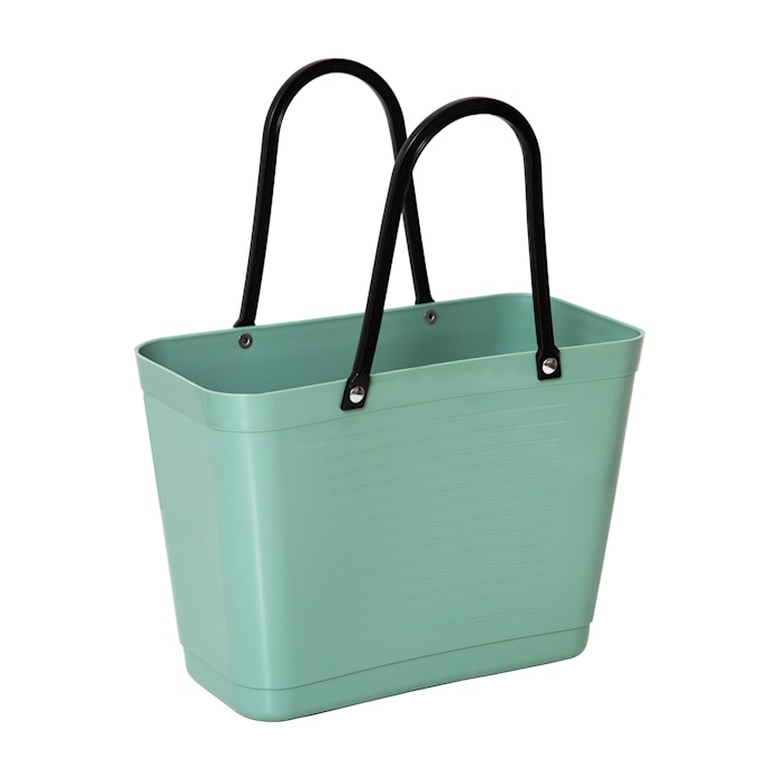 Väska Liten Green Plastic Olivgrön