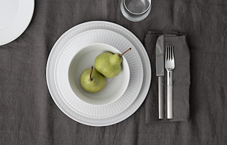 Fålhagen Assietter, 4-pak, 22,5 cm, Hvid