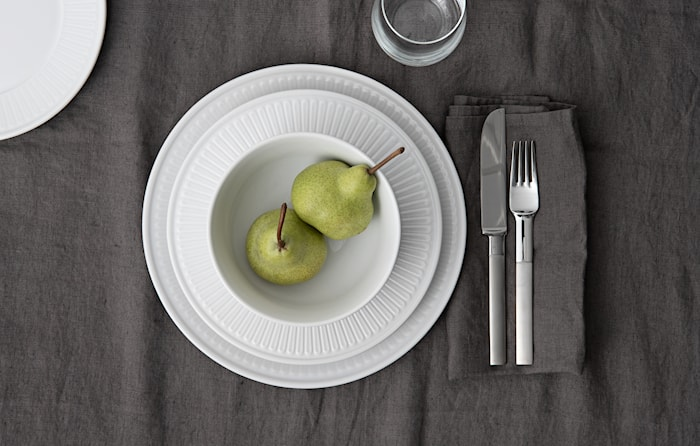 Fålhagen Assiettes 4-pack, 22.5 cm White