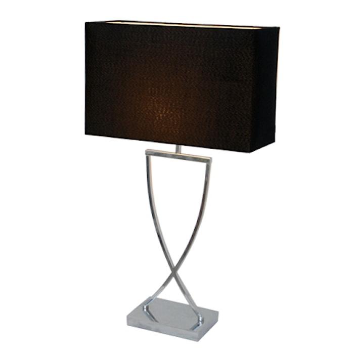 Omega Bordlampe 69 cm - Sort