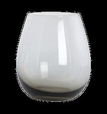 Ball Vandglas Grå 10 cm