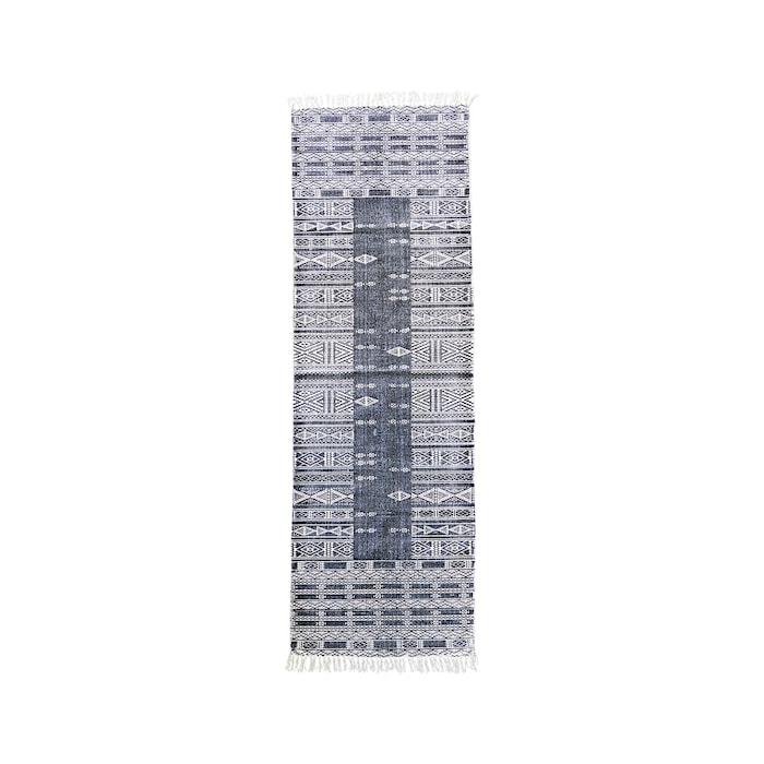 Måtte Julia 70x240 cm - Sort/hvid