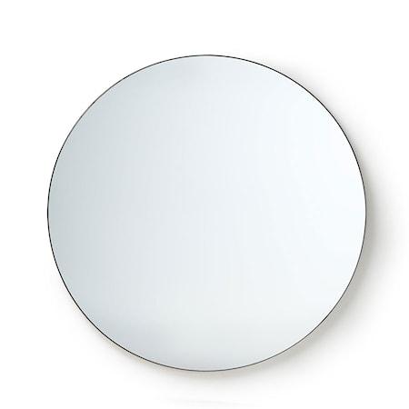 Rund Spegel Metall ram 120 cm