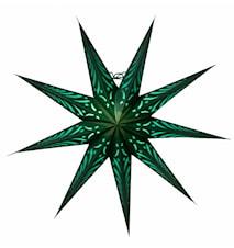 Katja Julstjärna Grön 70 cm